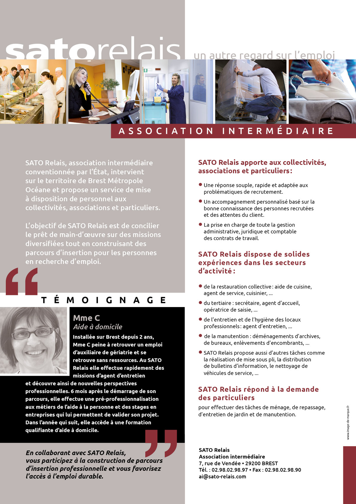 Association Intermediaire Groupe Sato Insertion Professionnelle